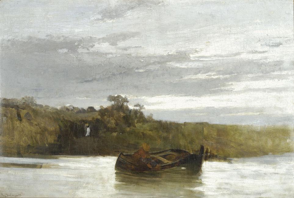 The river - Konstantinos Volanakis