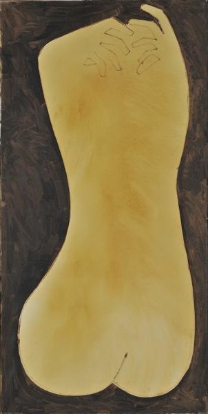 Woman's back - Nikos Nikolaou