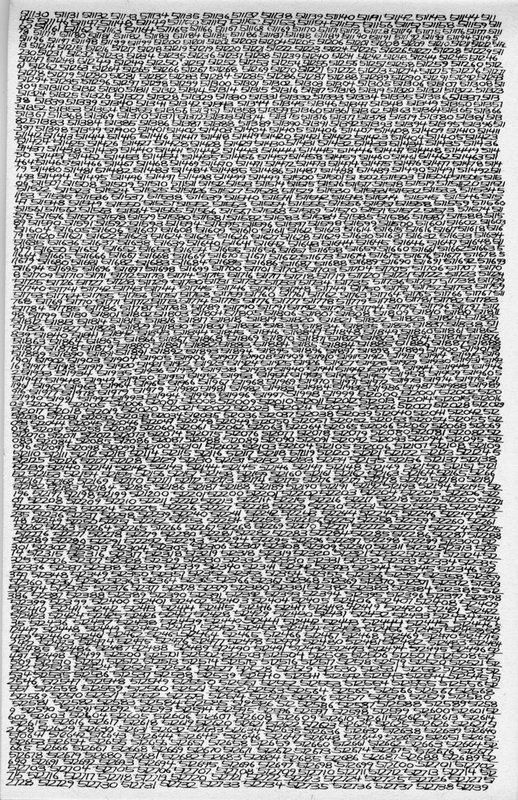 1965 / 1 - ? / detail 511130-512739 - Roman Opalka
