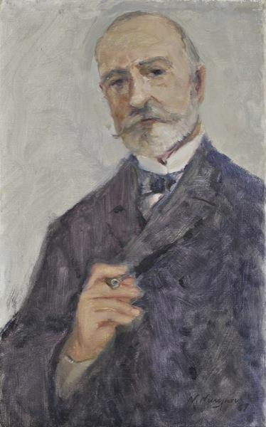Portrait of a man - Nikos Nikolaou