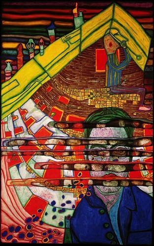 622 Mourning Schiele - Friedensreich Hundertwasser