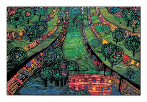 781 Green Town - Friedensreich Hundertwasser