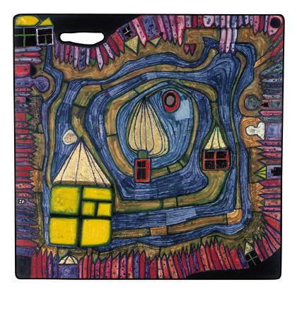 808 End of the Waters - Friedensreich Hundertwasser