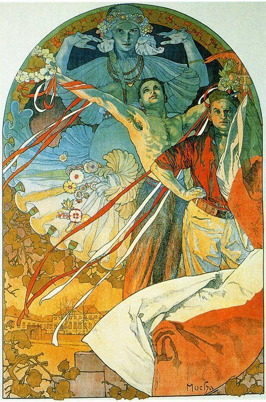8th Sokol Festival - Alphonse Mucha
