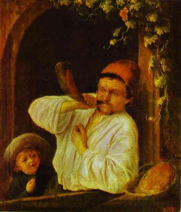 A Baker - Adriaen van Ostade