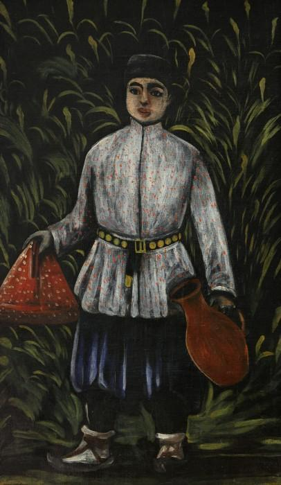 Peasant boy carrying food - Niko Pirosmani