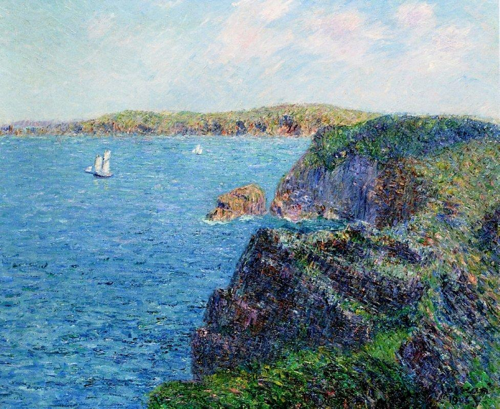 A Cove at Sevignies - Gustave Loiseau