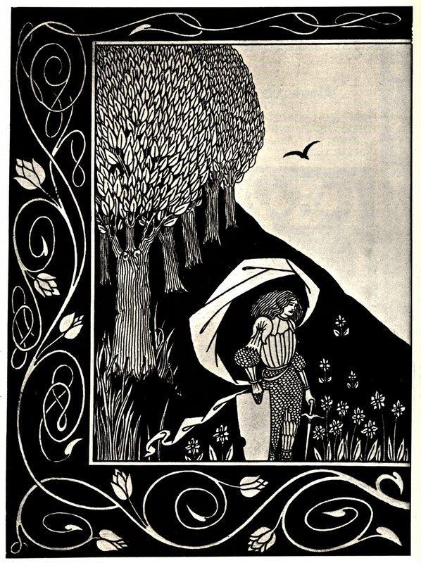 A Devil in Woman's Likeness - Aubrey Beardsley