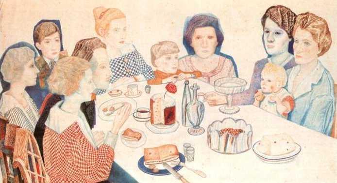 A Family Portrait - Pavel Filonov