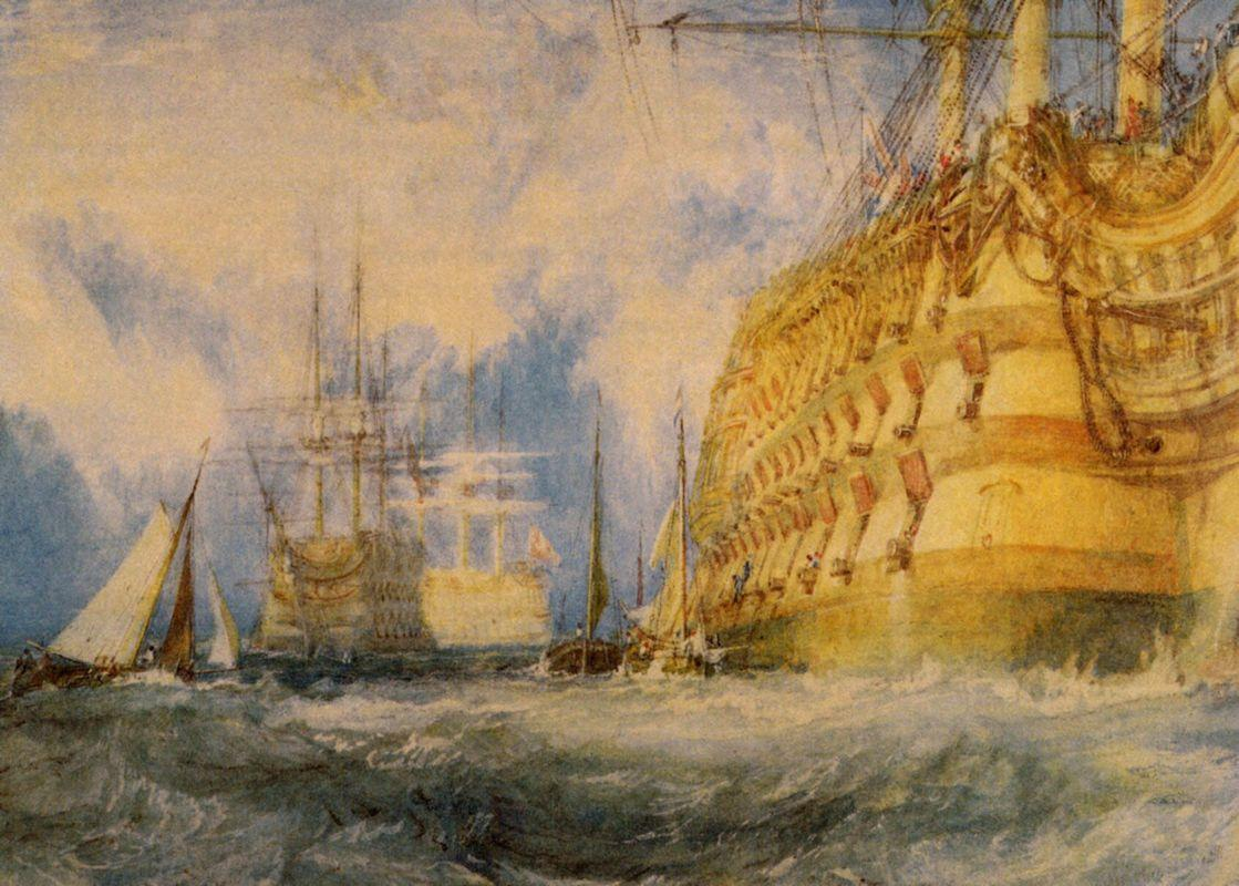 A First Rate Taking In Stores - William Turner