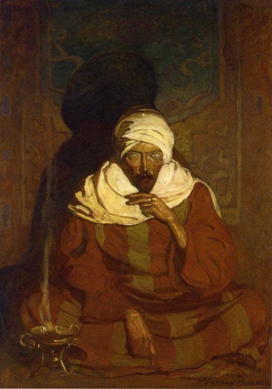A Hindu Mystic - N.C. Wyeth