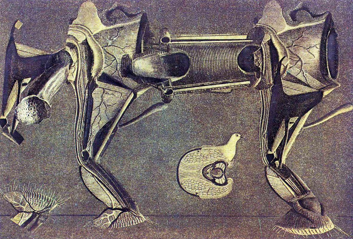 A little sick horse's leg - Max Ernst