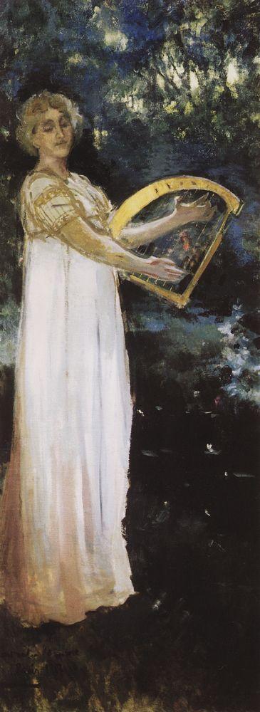 A Muse - Konstantin Korovin