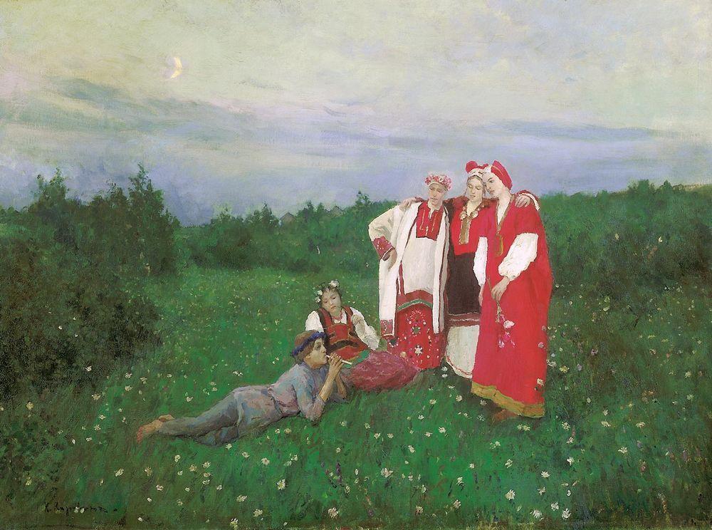 A Nothern Idyll - Konstantin Korovin