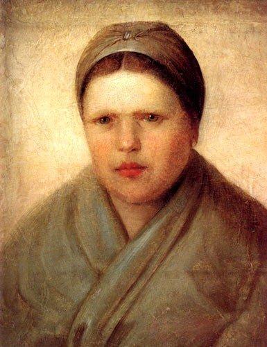 A Peasant Woman - Alexey Venetsianov