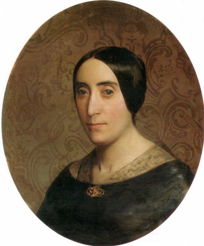 A Portrait of Amelina Dufaud - William-Adolphe Bouguereau