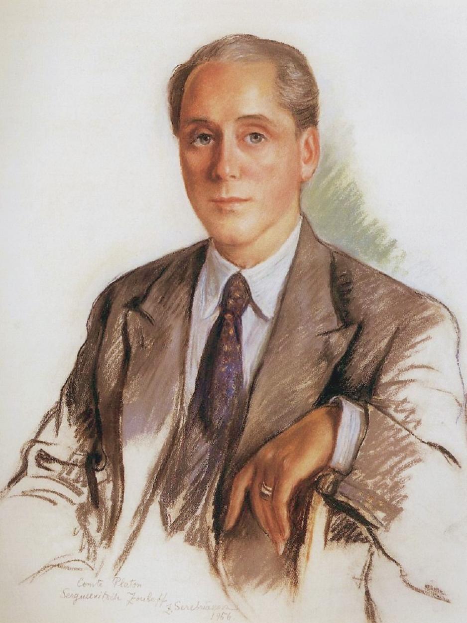 A Portrait of Graf Platon Zubov - Zinaida Serebriakova