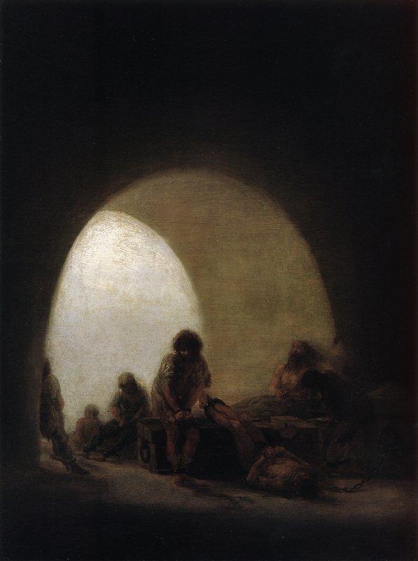 A Prison Scene - Francisco Goya