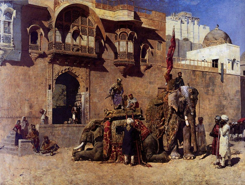 A Rajah Of Jodhpur - Edwin Lord Weeks
