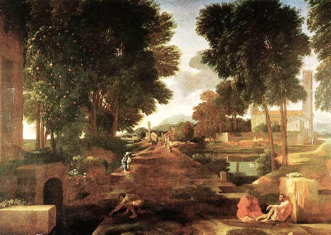 A Roman Road - Nicolas Poussin