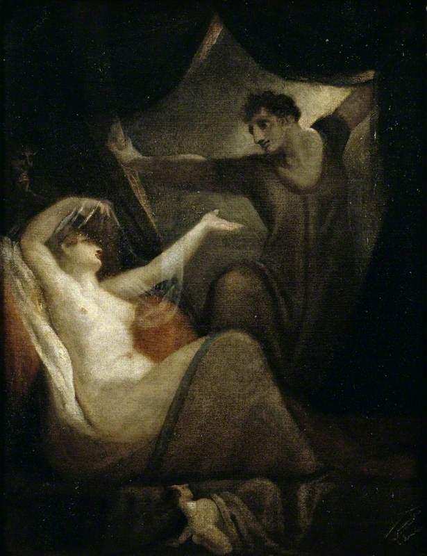 A Scene from 'The Wife of Bath's Tale' - Henry Fuseli