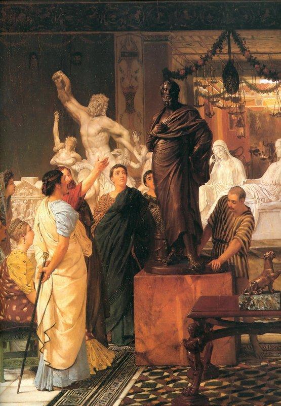 A Sculpture Gallery - Sir Lawrence Alma-Tadema