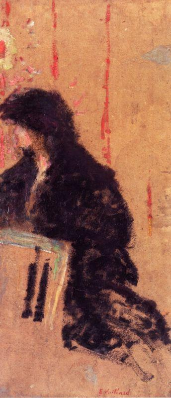 A Somber Dress - Edouard Vuillard