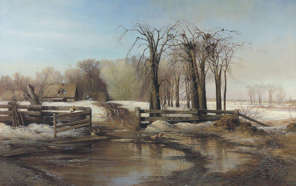 A spring day - Aleksey Savrasov