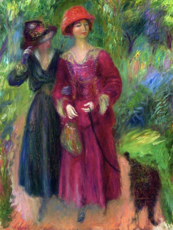 A Stroll in the Park - William James Glackens