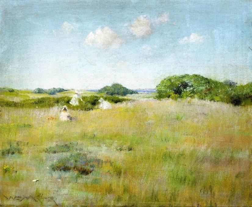 A Summer Day - William Merritt Chase