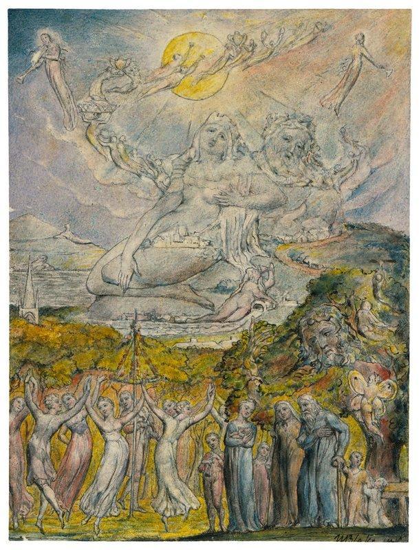 A Sunshine Holiday - William Blake