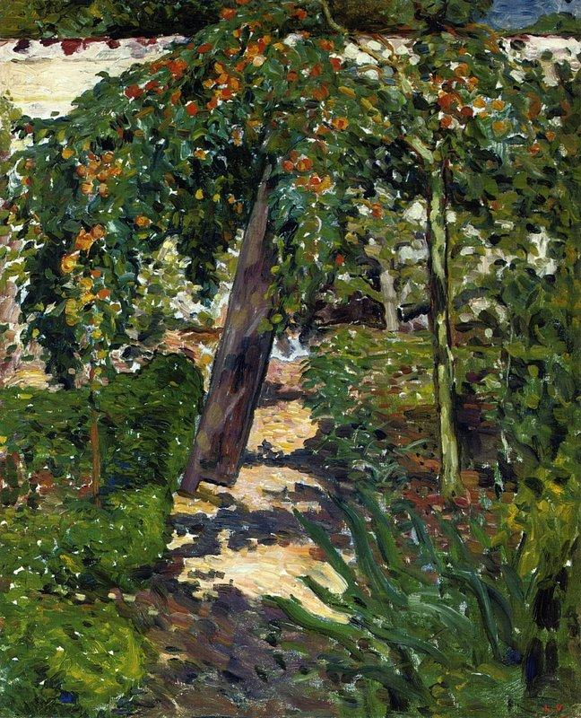 A Tree in the Garden - Louis Valtat