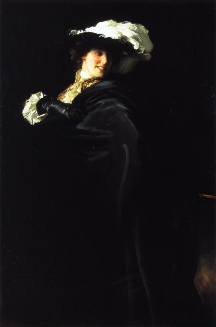 A Vele Gonfie (also known as Ena Wertheimer) - John Singer Sargent