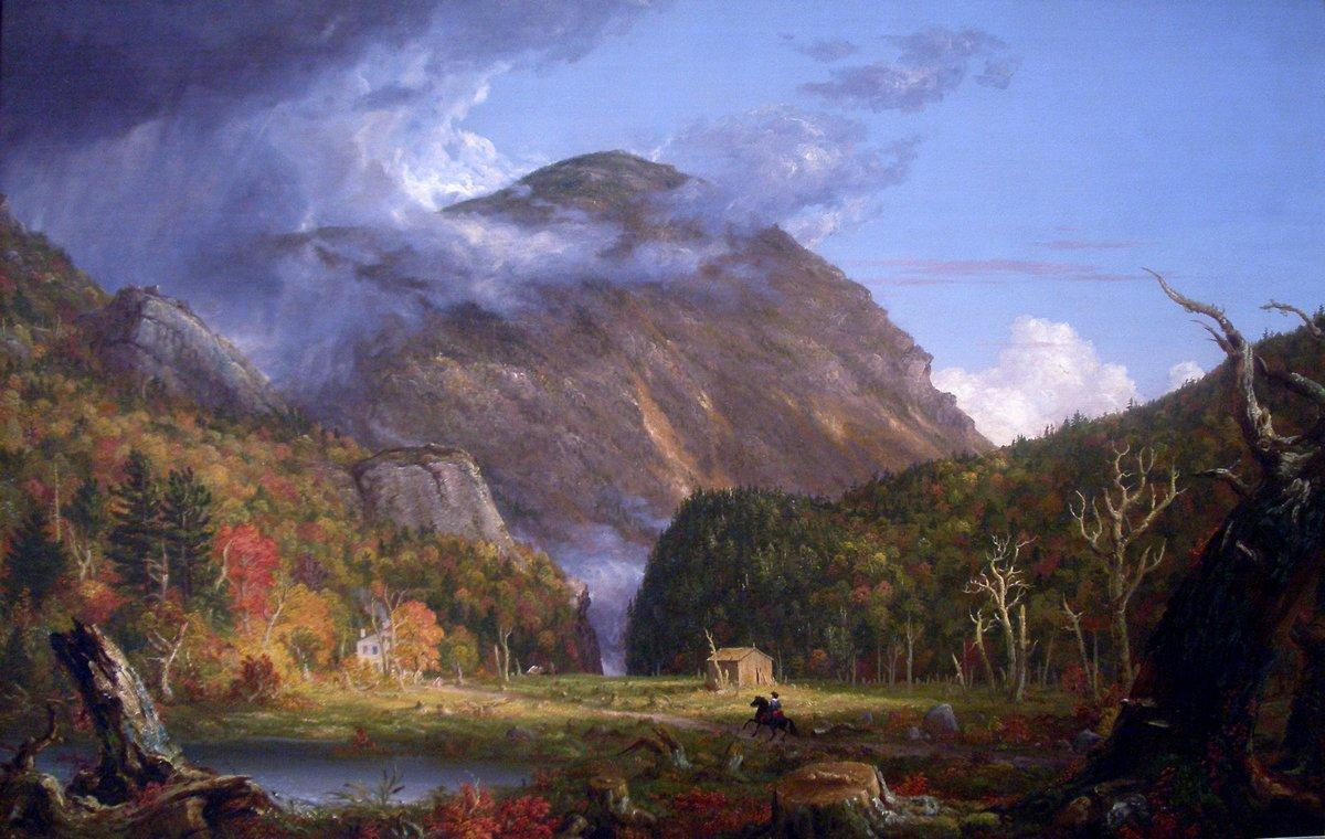 A View of the Mountain Pass Called the Notch of the White Mountains (Crawford Notch) - Thomas Cole