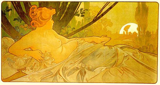 Dawn - Alphonse Mucha
