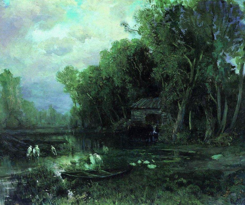 Abandoned Mill - Fyodor Vasilyev