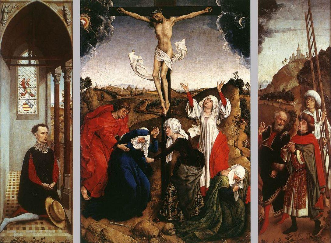 Abegg Triptych - Rogier van der Weyden