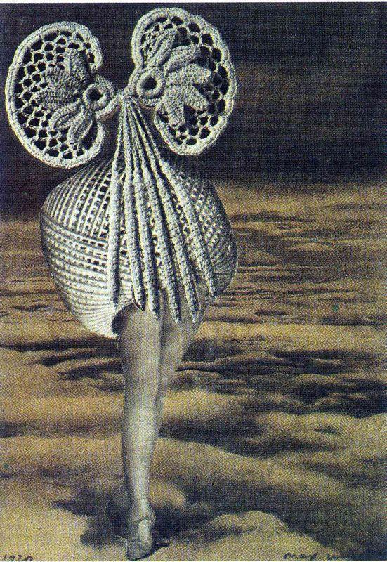 Above the clouds - Max Ernst