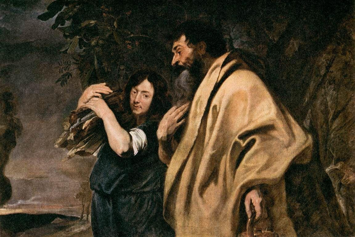 Abraham and Isaac - Anthony van Dyck