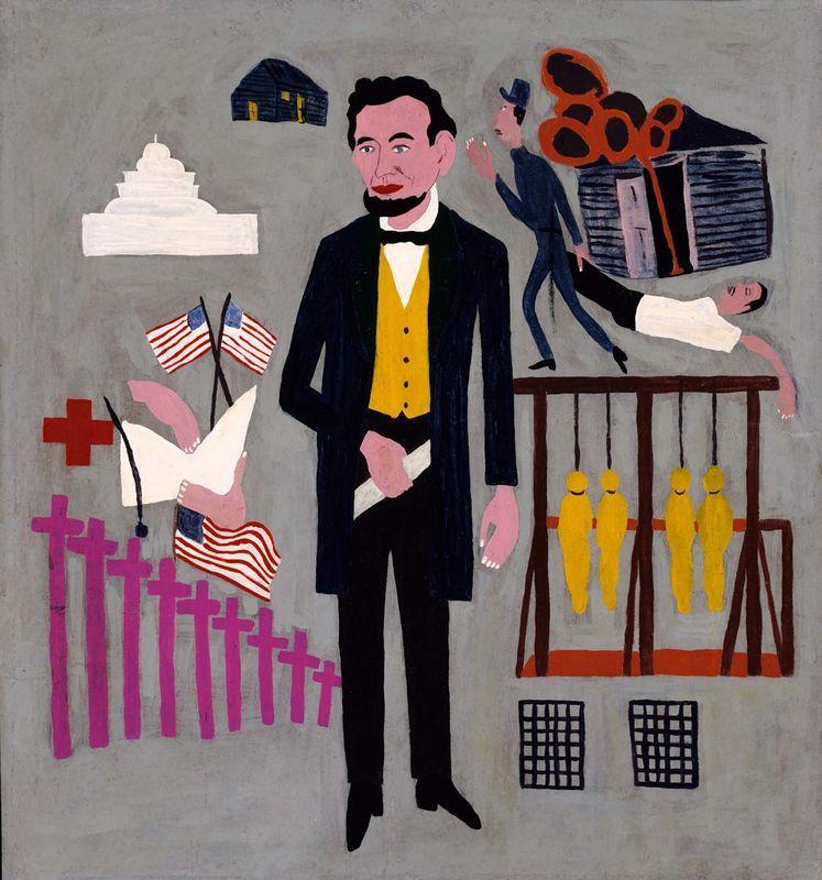 Abraham Lincoln - William H. Johnson