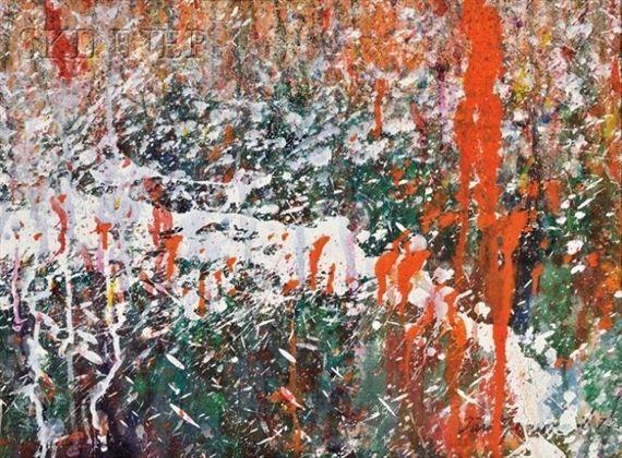 Abstract Composition - Salvador Dali