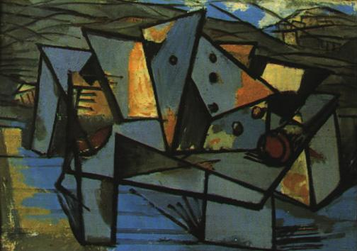 Abstract Construction - Marcel Janco