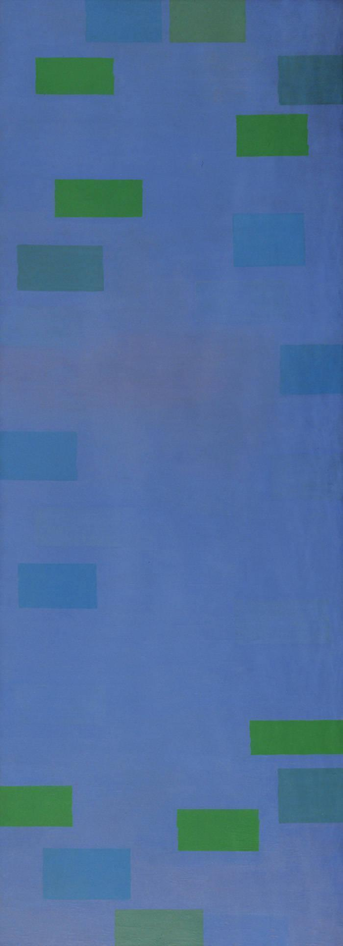 Abstract Painting, Blue - Ad Reinhardt