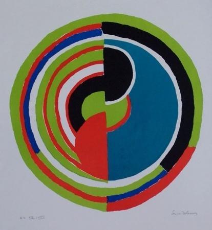 Abstract Swirl - Sonia Delaunay