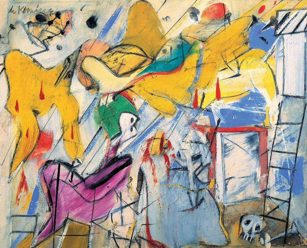 Abstraction - Willem de Kooning