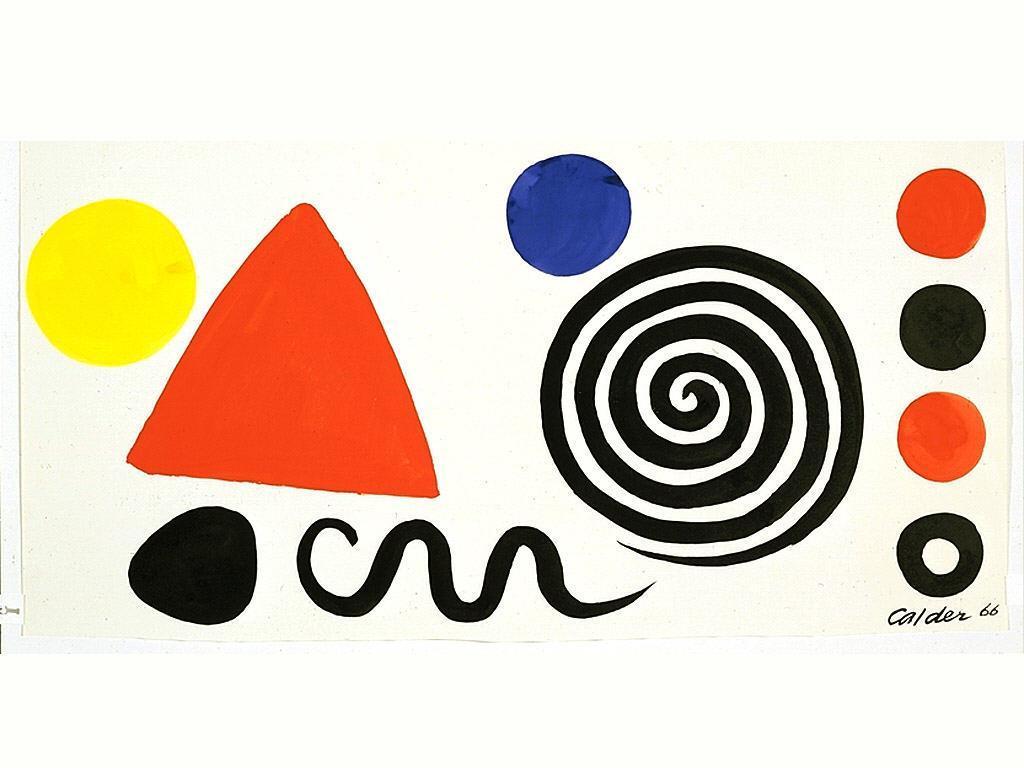 Abstraction  - Alexander Calder
