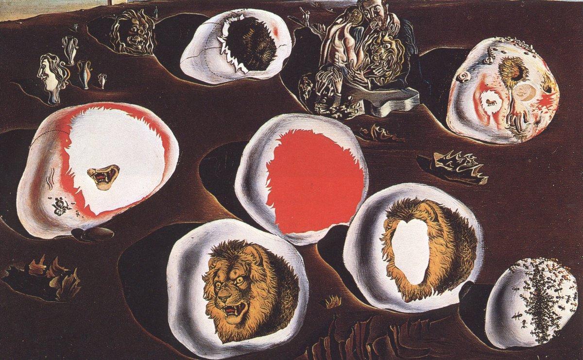 Accommodations of Desire - Salvador Dali