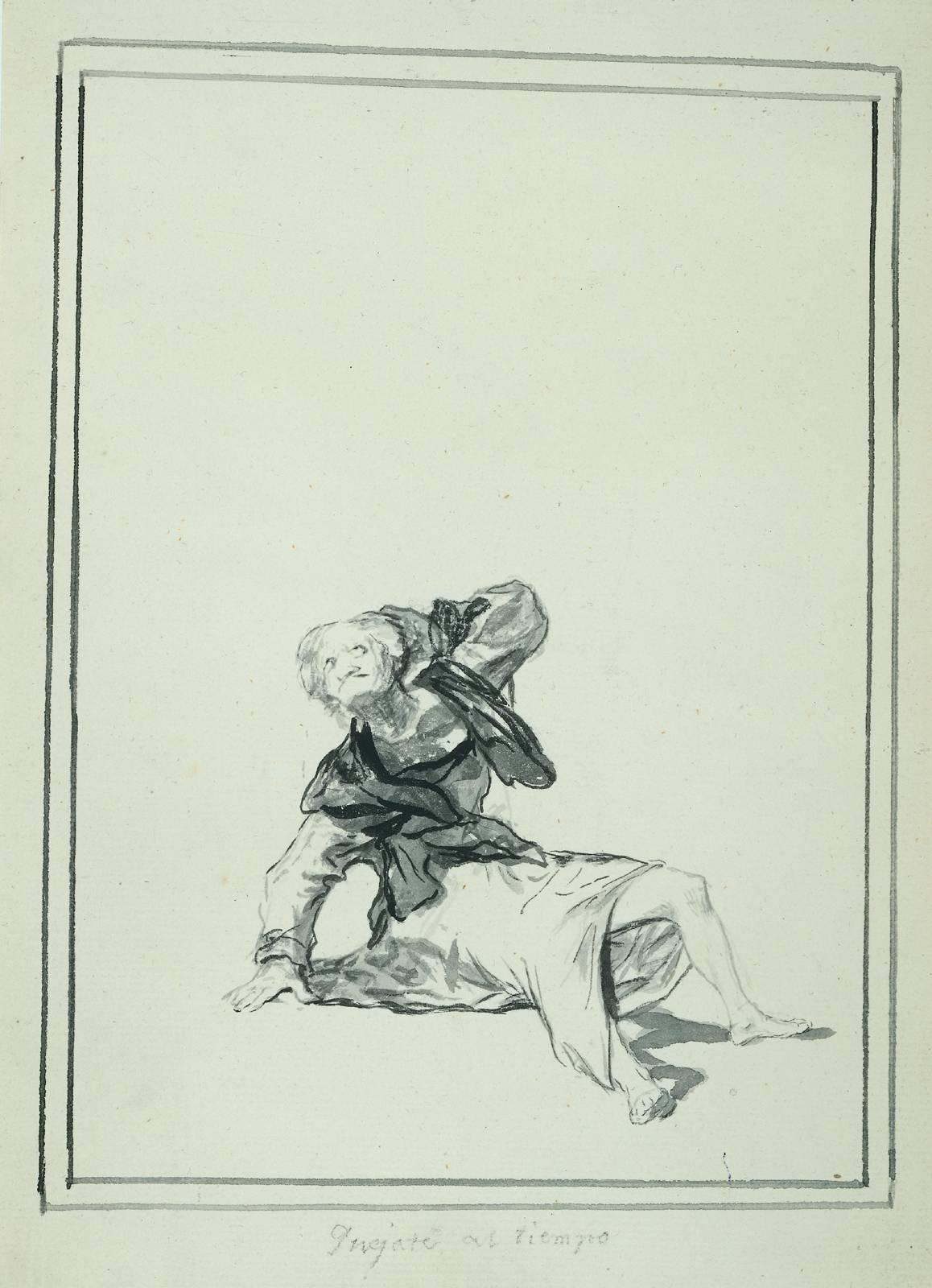 Accuse the Time - Francisco Goya