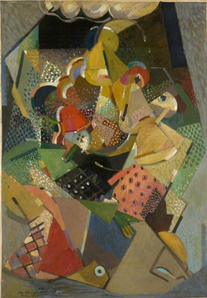 Acrobats - Albert Gleizes
