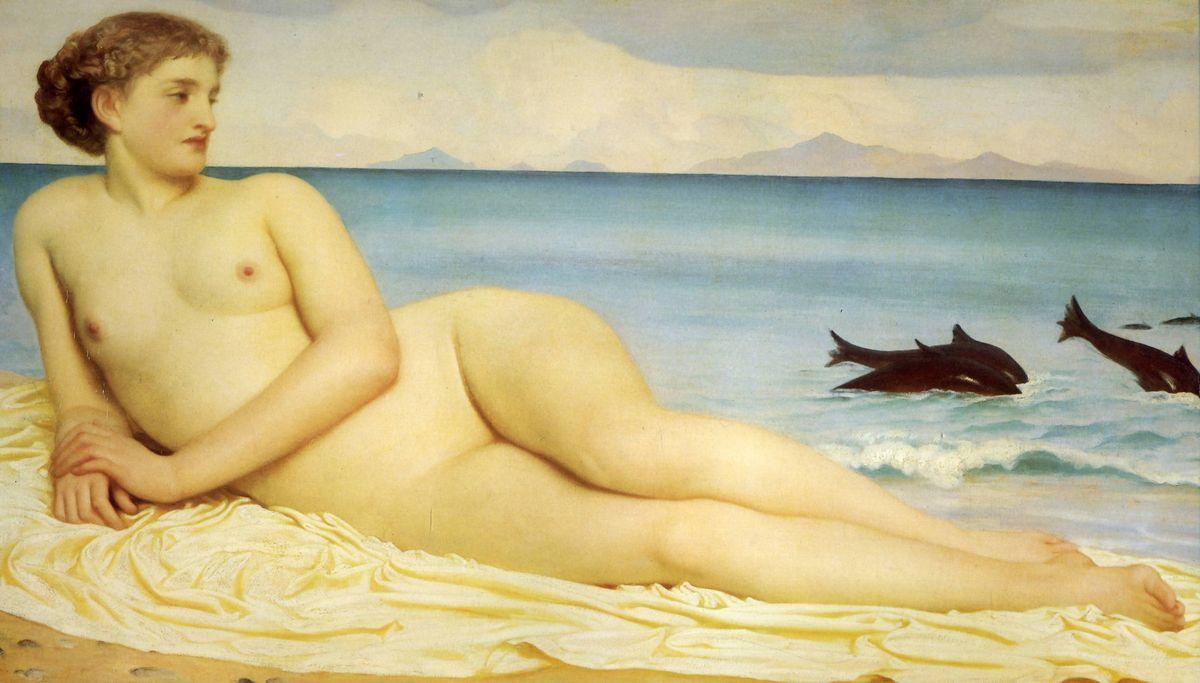 Actaea, the Nymph of the Shore - Frederic Leighton